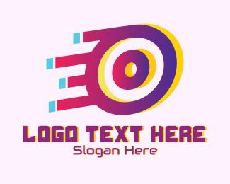 Speedy - Speedy Letter O Motion logo design