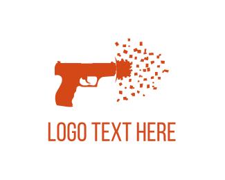 Colt - Confetti Shot logo design