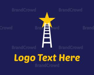 Celebrity - Reaching Stars logo design