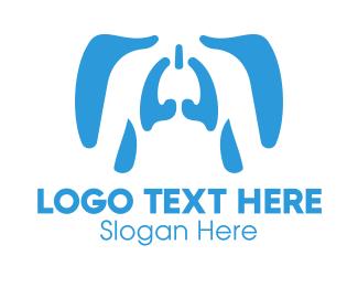 Diagnostics - Human Respiratory System logo design