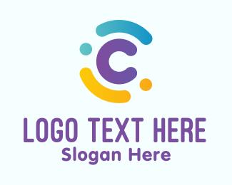 Multicolor - Multicolor Letter C logo design