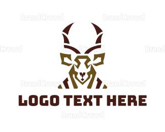 Antelope - Abstract Antelope logo design