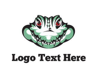 Pond - Wild Alligator logo design