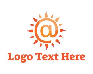Twitter - At Sun logo design