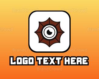 Camera App - Shutter Lens App logo design