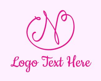 Letter N - Letter N Ribbon logo design