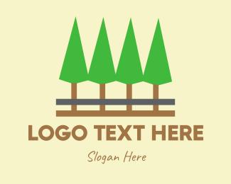 Pine Tree - Pine Trees logo design