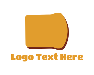 Bread - Bread Slice logo design