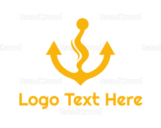 Travel Agent - Anchor Vape logo design