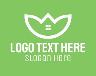 Home Garden - Sustainable Housing  logo design