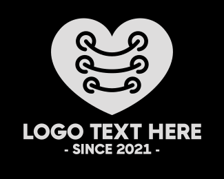 Tuxedo - Heart Tuxedo String logo design