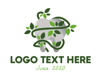 Dental - Organic Tooth logo design