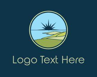 Swamp - Bay Circle logo design