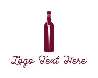Needle - Bottle & Needle logo design