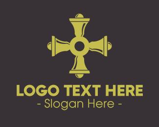 Congregation - Bell Cross logo design