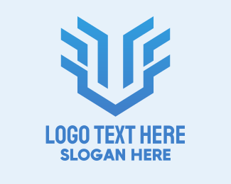 Clan - Blue Gaming Clan logo design