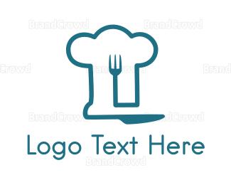 Dinnerware - Chef & Cutlery logo design