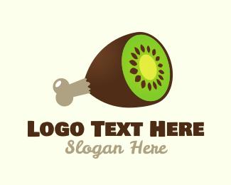 Fastfood - Kiwi Ham logo design