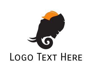 Architect - Elephant Architect logo design