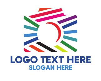 Stylish - Abstract Stylish Camera logo design