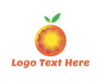 Tangerine - Modern Orange logo design