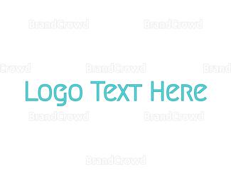 Casual - Minimalist Blue  logo design