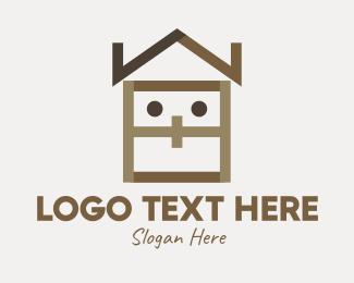 Home Accessories - Home Furnishing Mascot logo design