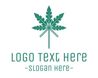 Cannabis Oil - Arrow Cannabis logo design