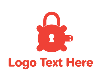 Security - Secure Turtle Lock logo design