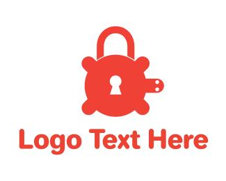 Secure - Secure Turtle Lock logo design