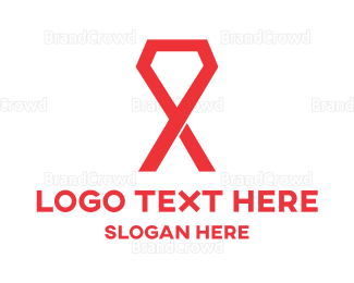 Hospital - Gem Ribbon logo design