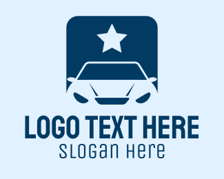 Social Media - Star Car App  logo design
