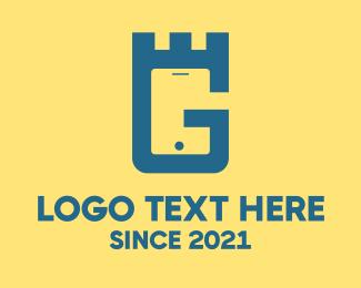 Mobile App - Royal G Mobile App logo design