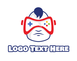 Esports - Baby Manchild VR Gaming logo design