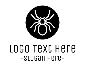 Malware - Spider Circle logo design