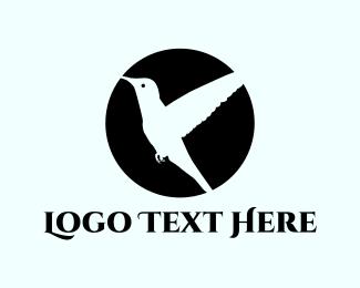 Hummingbird - Flying Bird logo design