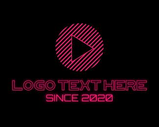 App - Pink Gamer Vlog logo design