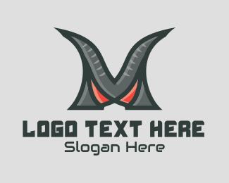 Boss - Monster Clan Letter M logo design