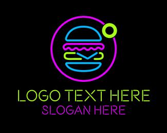 Neon - Neon Burger Store logo design