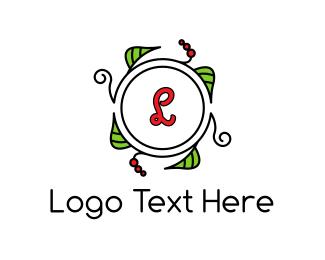 """""""Fresh Wreath Lettermark """" by FishDesigns61025"""