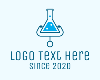 Researcher - Medical Lab Doctor logo design