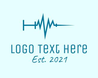 Lifeline - Blue Lifeline Injection  logo design