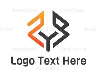 Freight - Abstract Fox logo design