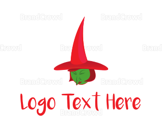 Magical - Green Witch logo design