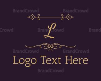 Craft - Luxury Gold Letter logo design
