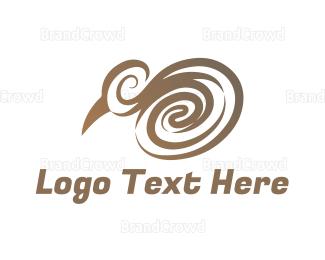 Whirl - Elegant Kiwi logo design