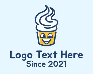 Desserts - Kiddie Sundae Cup logo design