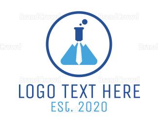 Break - Blue Chemistry Business logo design