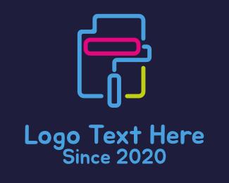 Art - Digital Art Painting Printing logo design