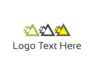 Booking - Click pyramids logo design